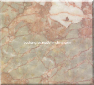 Verde Jade Red Marble Tile pictures & photos