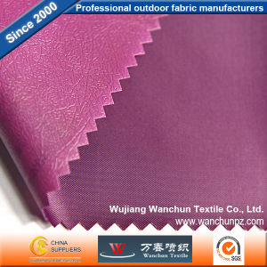 Polyester 190t Fabric with PVC Coated for Bag Tent pictures & photos
