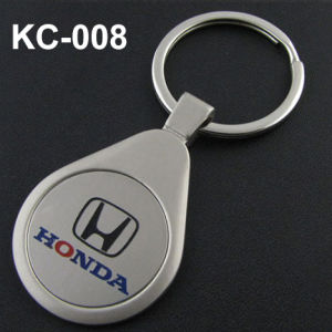 Zinc Keychain with Customer Laser Logo pictures & photos