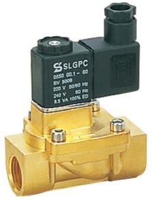 High Quality 2 Way 2 Piston Brass 2V130-15 Soliend Valve pictures & photos