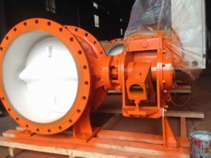 Hydraulic Control Slow Closed Check Butterfly Valve