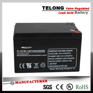 12V14ah AGM VRLA Battery (TL121400) for Solar Kit pictures & photos