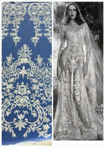 The New Whole Wedding Dress Fabric Lace, Embroidery Lace pictures & photos