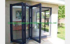 Powder Coated Grey Color Aluminium Bifold Doors pictures & photos