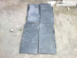 Black Slate Tiles for Wall/Flooring (mm097) pictures & photos