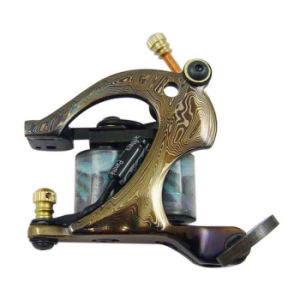 Professional Damascus Tattoo Machine Gun pictures & photos
