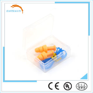 Safety Silicone Earplugs for Swimming Wholesale pictures & photos