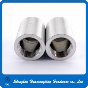 Custom Silver Cylinder Round M8 Aluminum Nut pictures & photos