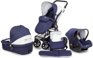 Baby Stroller Matching Carry Cot, Car Seat, Mami Bag