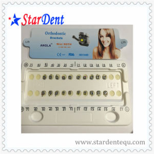 Orthodontic Angla Metal Mini Roth Bracket (hot sale) of Dental pictures & photos