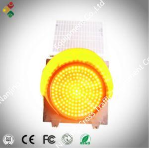 300mm Solar Warning Traffic Signal Light