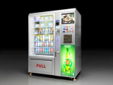 Snack/Cold Drinks and Coffee Combo Vending Machine LV-X01 pictures & photos