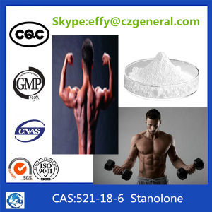 99% Purity Bodybuilding Anabolic Raw Steroids Hormone Powder Stanolone pictures & photos