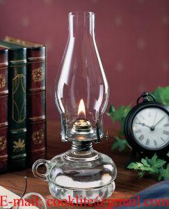Clear Glass Paraffin Hurricane Lamps Kerosene Oil Lamps pictures & photos