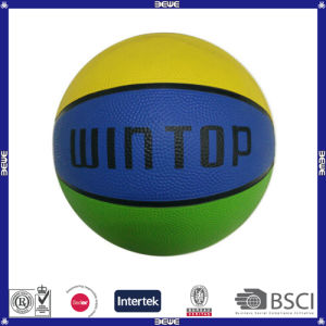 Best Choice Hot Sell Promotional Customized Logo Custom Best Choice Hot Sell Promotional Customized Logo Custom Basketball with Logo pictures & photos