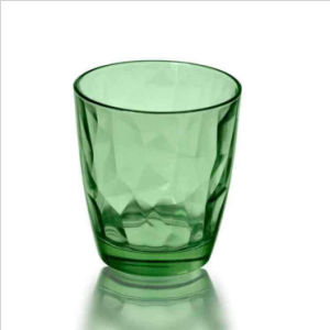 Hot Sale 9oz 11oz Green or Colorful Rock Glass Cup (DC-YLRG) pictures & photos