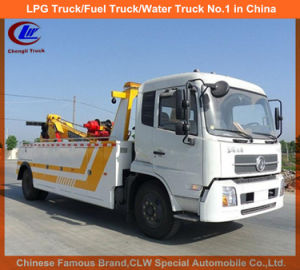 Road Wrecker Truck for 10 Tones Intergrated Tow Truck pictures & photos