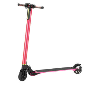 5.5inch Carbon Firber Electric Folding Kick Scooter pictures & photos