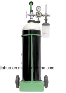 Oxygen Gas Cylinder GB5099/ISO9809 40L 150bar-China Export Gas Cylinder pictures & photos