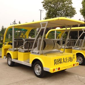 8 / 11 Seater Electric Sightseeing Passenger Bus (DN-8F) pictures & photos