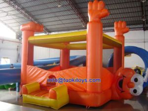 Customized Inflatable Bouncer Made of 18 Oz PVC Tarpaulin (A155) pictures & photos