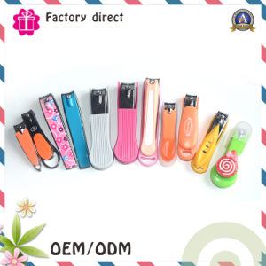 Colorful Competitve Pricecarbon Plastic Baby Nail Clipper pictures & photos