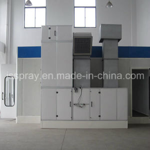 Spl-C-II Gas-Heated Paint Booth From China