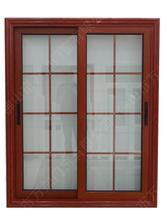 Aluminum Profile Sliding Window with Mosquito Net Inside pictures & photos