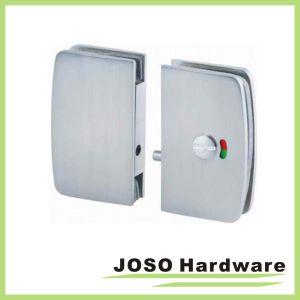 Round Edge Glass Sliding Door Lock Door Hardware (GDL002B) pictures & photos