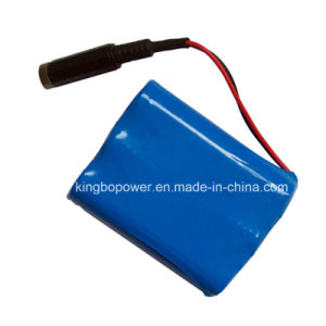 High Quality 2s3p Rechargeable Lithium Ion Battery (7.4V 6600mAh) pictures & photos