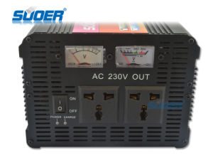 Suoer 1500W 24V 220V off Grid Power Inverter with Charger (HDA-1500D) pictures & photos