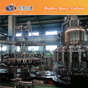 Hy-Filling Glass Apple Juice Hot Filling Machine pictures & photos