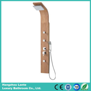 Three Functions Bamboo Bathroom Rainfall Panel Bamboo Material (LT-M201) pictures & photos