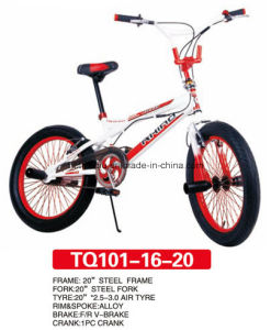 Newest Design of BMX Freestyle Bicycle 20inch pictures & photos