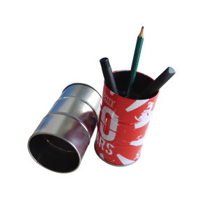Round Shape Metal Pen Pencil Holder for Office Promotion Usage pictures & photos