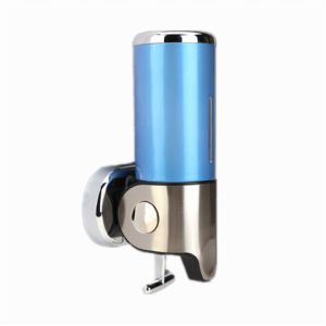 Blue 500ml Stainless Steel+ABS Plastic Wall-Mountained Liquid Soap Dispenser pictures & photos