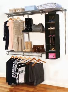 1.8m Metal Closet Kit with Fabric Storage pictures & photos