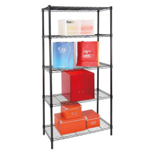 Adjustable 5 Tiers Metal Wire Snack Display Rack Manufacturer (LD9035180A5E) pictures & photos