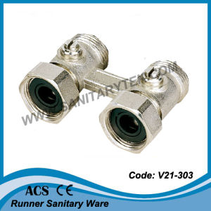Straight Radiator H-Block with Valve (V21-303) pictures & photos