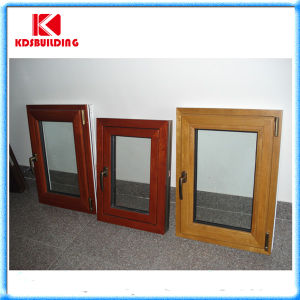 Good Solid Wood Cladding Aluminum Window (KDSW006)
