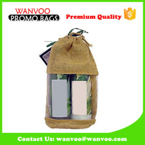 Natural Jute Packing Bag Wine Gift Bag pictures & photos