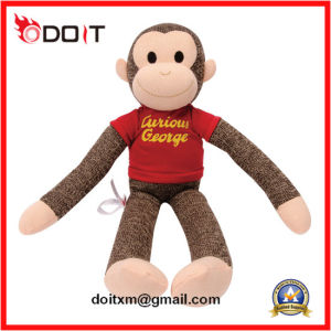 George Sock Soft Stuffed Plush Monkey Plush Toy Monkey pictures & photos