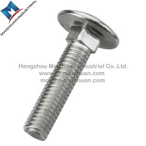 6mm X 60mm Zinc Plated Metric Carriage Bolts pictures & photos