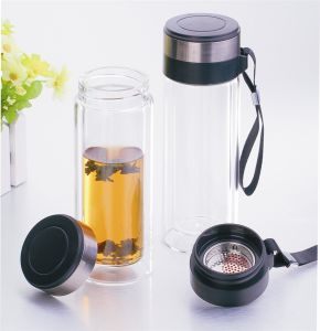 2015 Innovative Product Glass Water Bottle, Unique Water Bottle pictures & photos