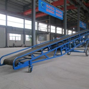SUS 304 Conveyor/Conveyer, Mobile Belt Conveyors pictures & photos