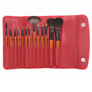 Chinese Red 13PCS Natural Hair Makeup Brush pictures & photos