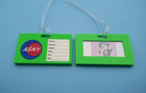Soft PVC School Bag Tag for Students pictures & photos