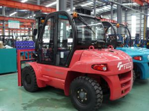 6ton Counter Balance Diesel Forklift (FD60TA) pictures & photos