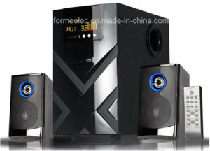 2.1CH Multimedia Speaker System with USB SD FM Subwoofer pictures & photos