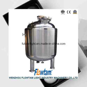 Stainless Steel Mirror Polishing Reaction Mixing Tank pictures & photos